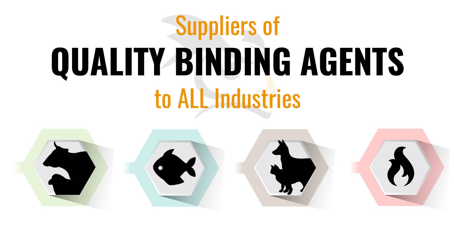 Quality binding agents for all industries of pelleted products